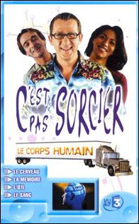C'est pas sorcier : Le Corps humain - DVD
