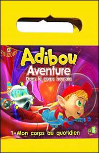 Adibou, aventure dans le corps humain, vol. 1 : mon corps au quotidien - DVD